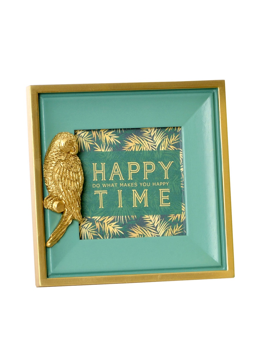 Фоторамка RICH LINE Home Decor Фоторамка *Happy time* RICH LINE Home Decor LD-156232-Голубой, LD-156232-Голубой, голубой english quote diy home decor wallpaper wall sticker mural