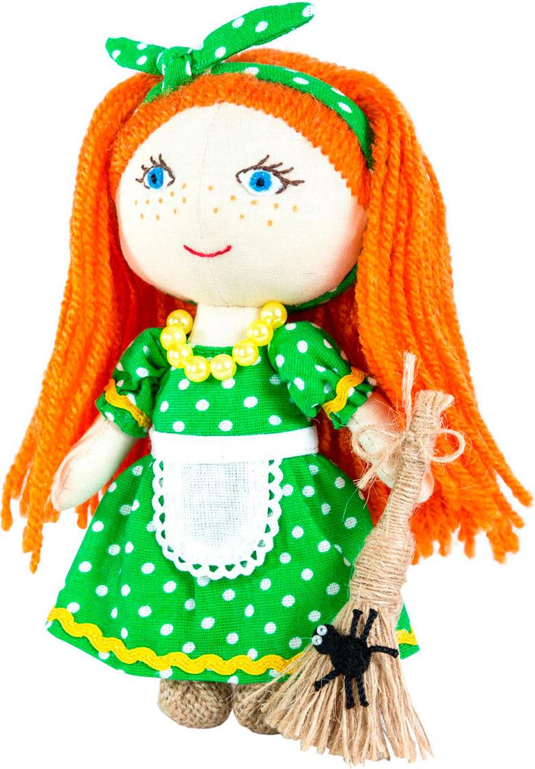 Набор для изготовления игрушки Перловка Хозяюшка, 904697, высота 15,5 см набор для создания игрушки перловка слоненок фантик высота 19 см