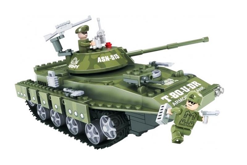 Конструктор Армия Танк 213 дет.