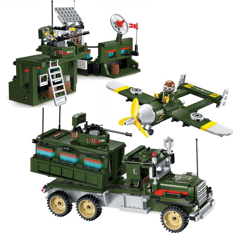 Конструктор Военная база 687 дет. конструктор enlighten brick подводная лодка 1211 донный искатель 29 дет 123876