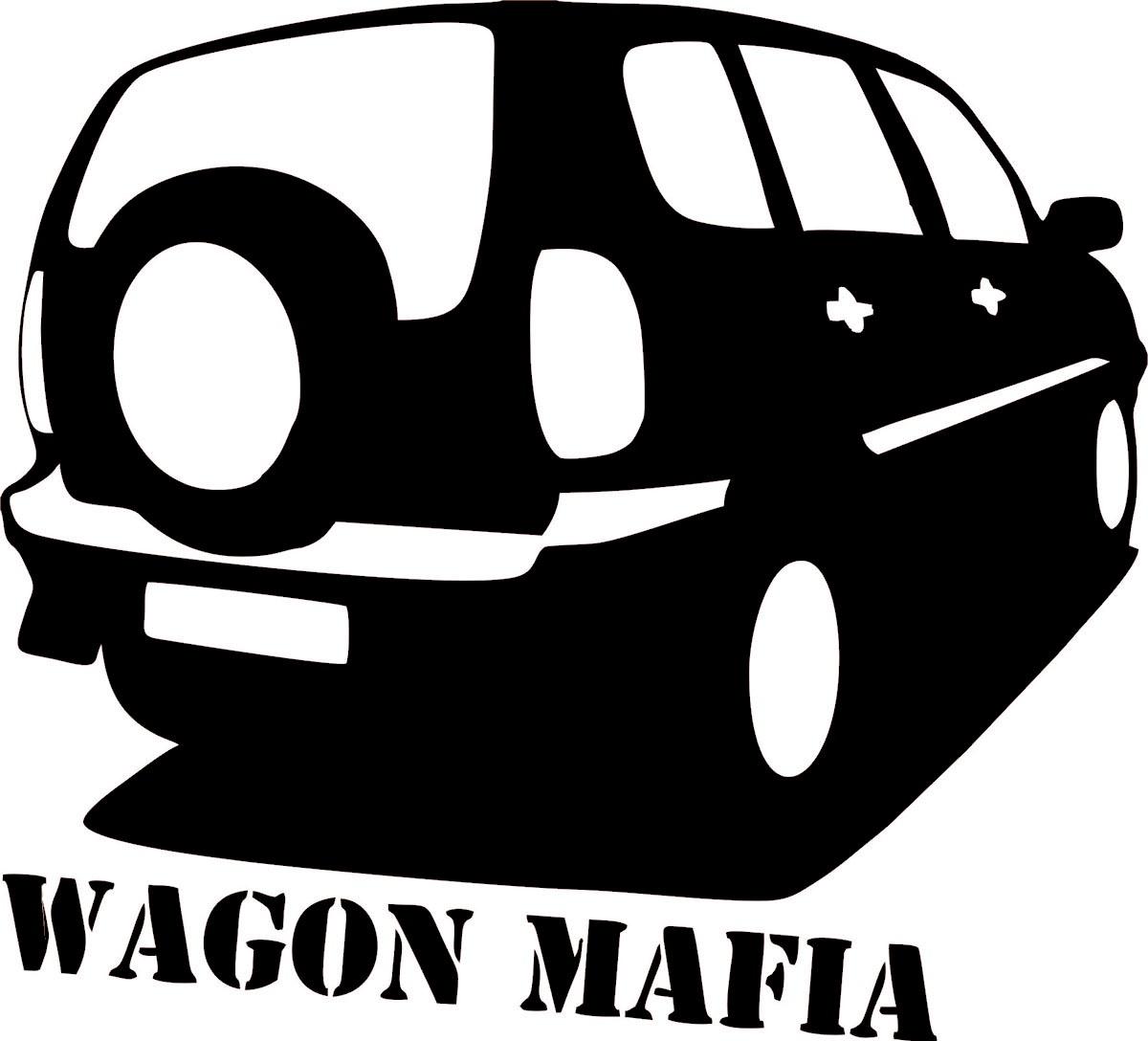 Фото - Наклейка ОранжевыйСлоник виниловая вагон мафия для авто или интерьера, Винил авто