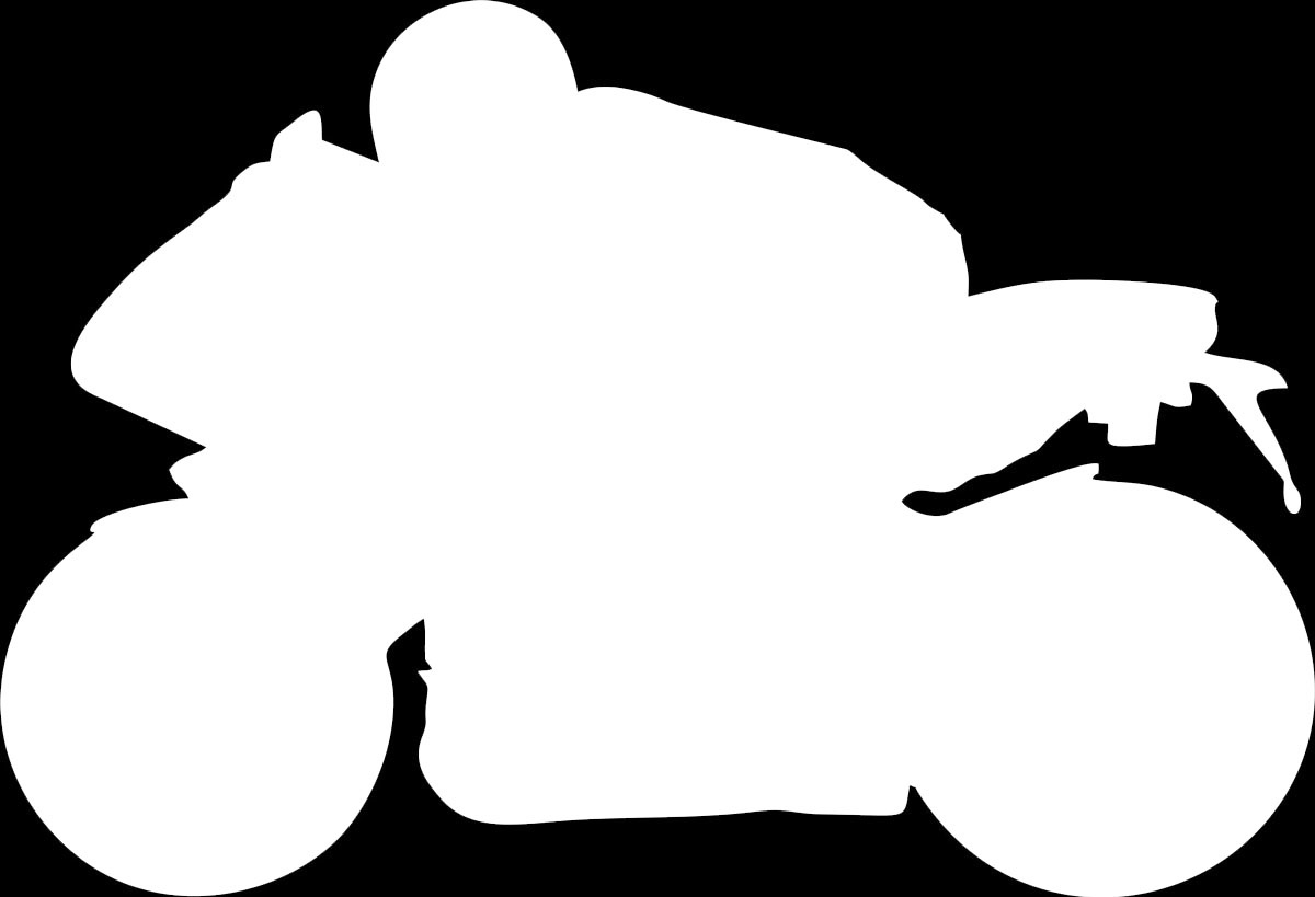 Фото - Наклейка ОранжевыйСлоник виниловая Мото6 для авто или интерьера, Винил авто