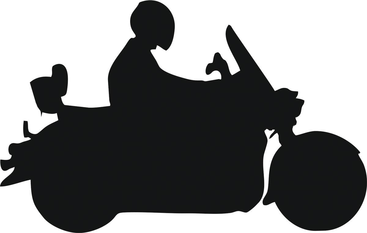 Фото - Наклейка ОранжевыйСлоник виниловая Мото9 для авто или интерьера, Винил авто