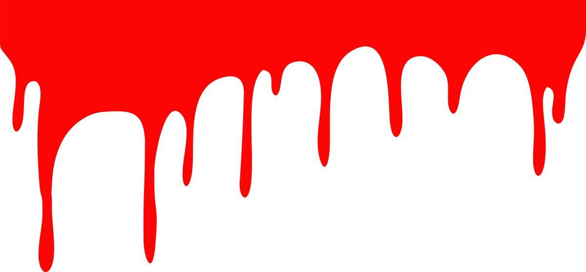 Фото - Наклейка ОранжевыйСлоник виниловая Кровушка 2 для авто или интерьера, красная, Винил авто