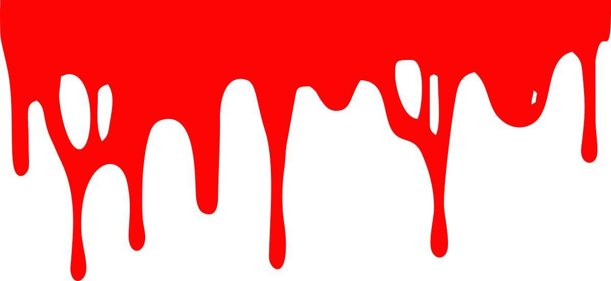 Фото - Наклейка ОранжевыйСлоник виниловая Кровушка 3 для авто или интерьера, красная, Винил авто