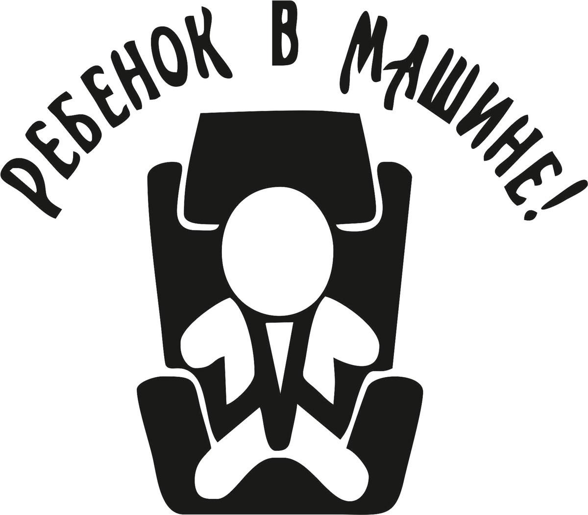 Фото - Наклейка ОранжевыйСлоник виниловая Ребенок в машине3 для авто или интерьера, Винил авто