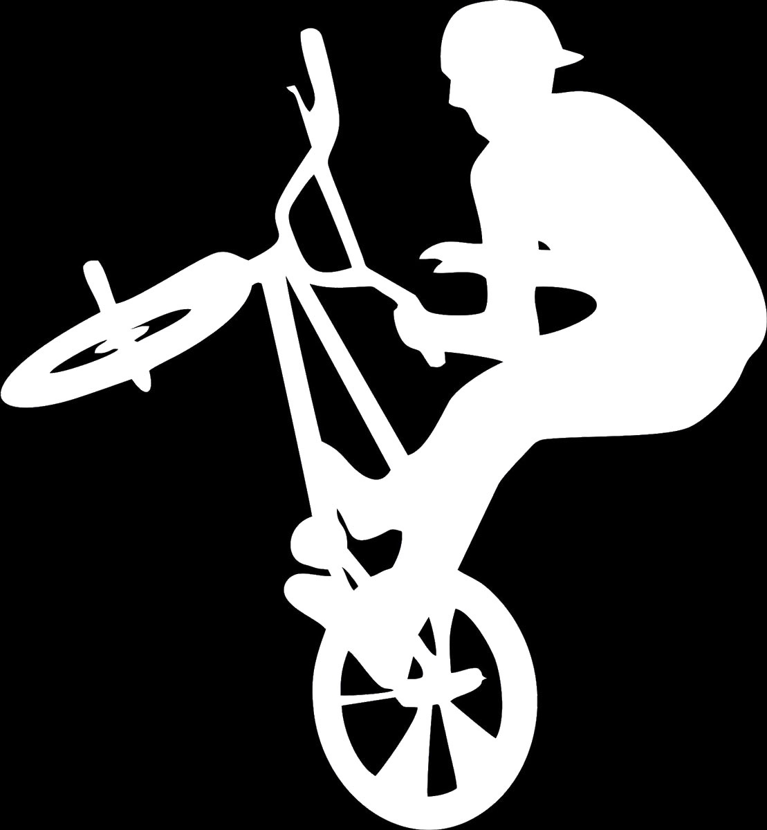 Фото - Наклейка ОранжевыйСлоник виниловая Вело для авто или интерьера, Винил авто