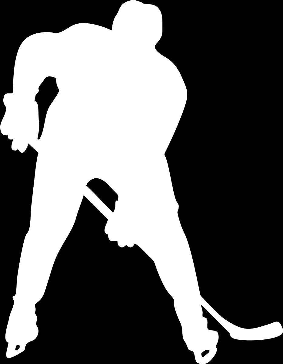Фото - Наклейка ОранжевыйСлоник виниловая Хоккей для авто или интерьера, Винил авто