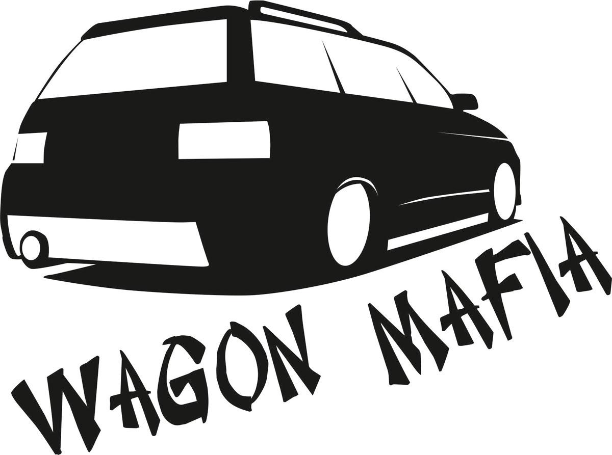 Фото - Наклейка ОранжевыйСлоник виниловая Вагон для авто или интерьера, Винил авто