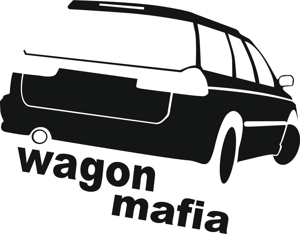 Фото - Наклейка ОранжевыйСлоник виниловая Вагон3 для авто или интерьера, Винил авто