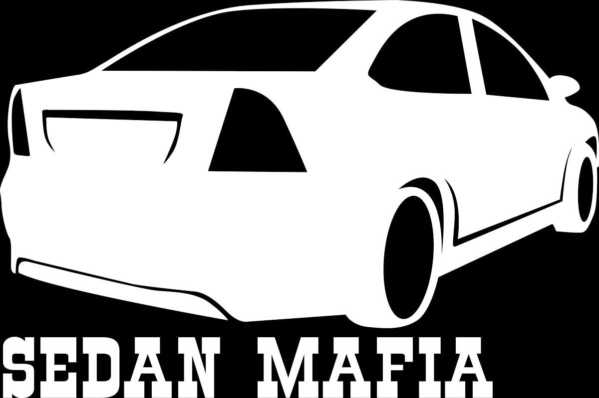 Фото - Наклейка ОранжевыйСлоник виниловая Седан2 для авто или интерьера, Винил авто