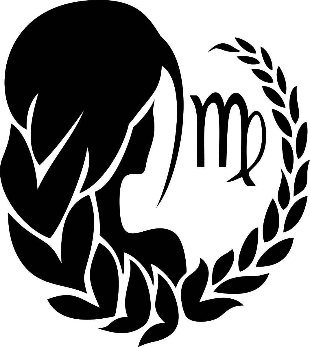 Фото - Наклейка ОранжевыйСлоник виниловая Дева для авто или интерьера, Винил авто