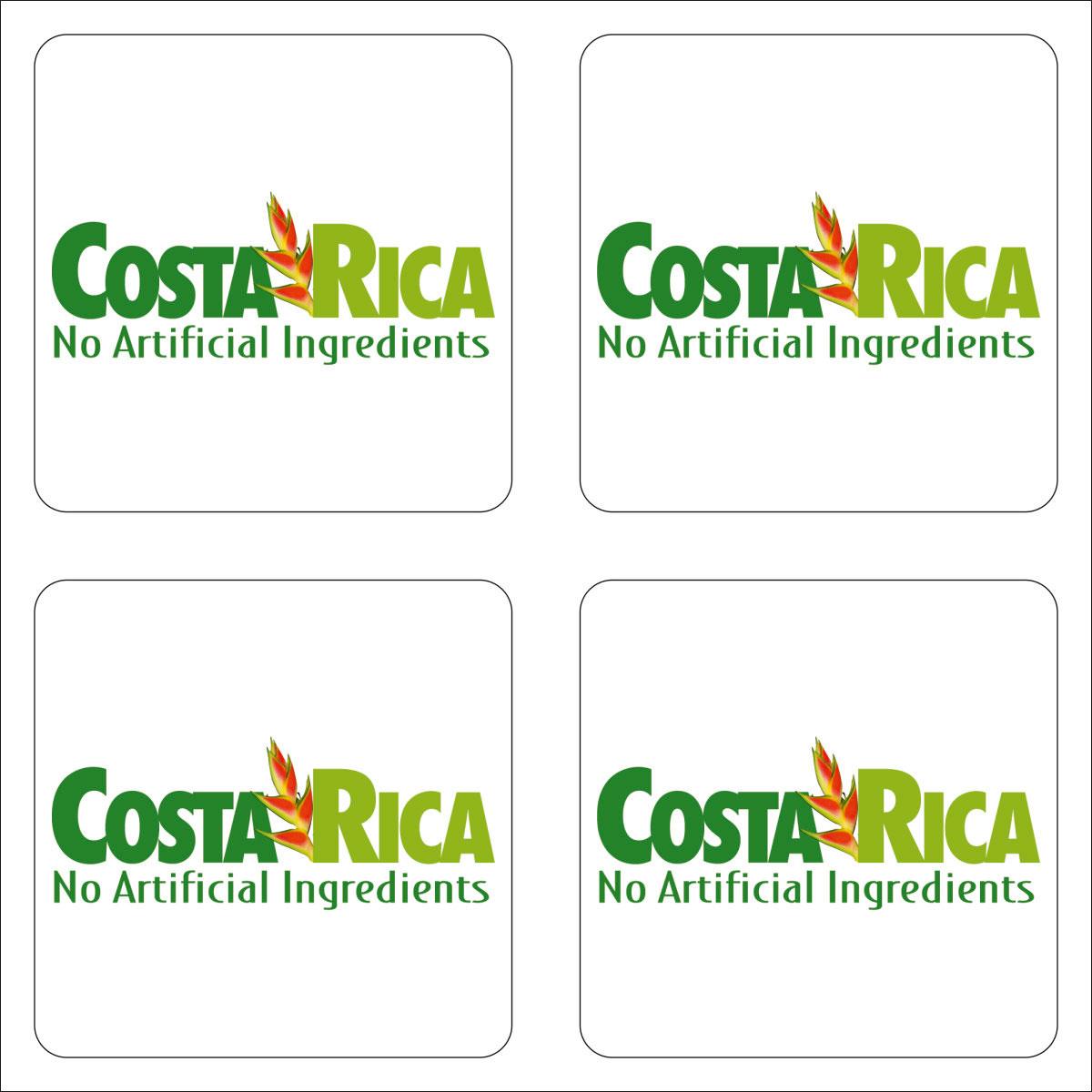 Наклейка Оранжевый Слоник виниловая путешественника costarica Винил