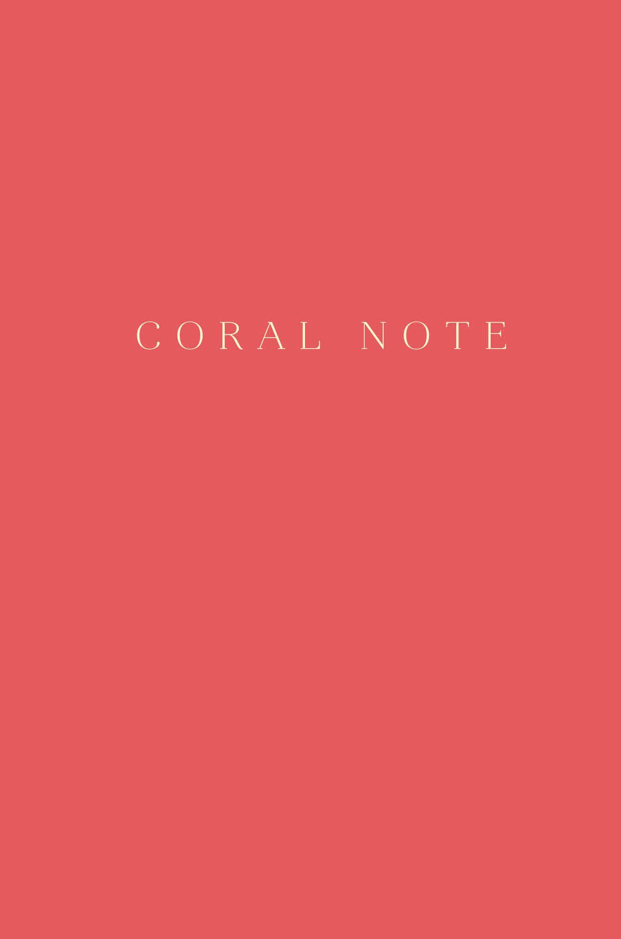 Coral Note. Блокнот с коралловыми страницами (твердый переплет) антихайп красный блокнот твердый переплет 160x243