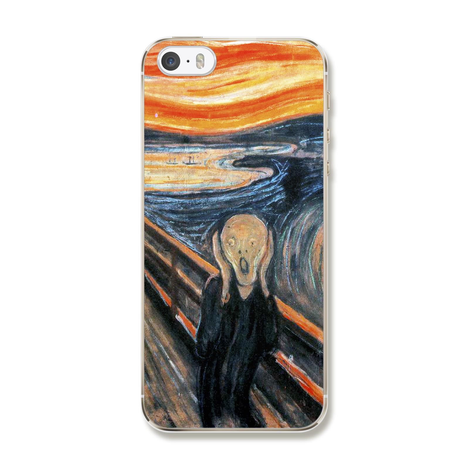 "Чехол для iPhone 5/5S/SE ""Эдвард Мунк, Крик"""