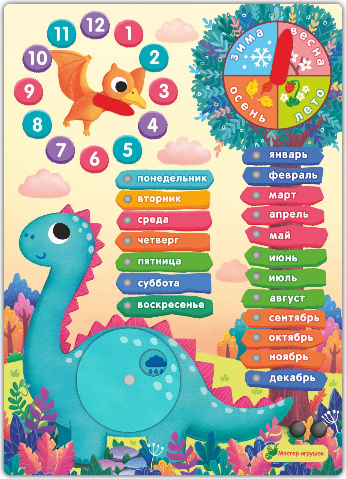 Обучающая игра Фабрика Мастер игрушек ДиноЛенд, 4631142187371