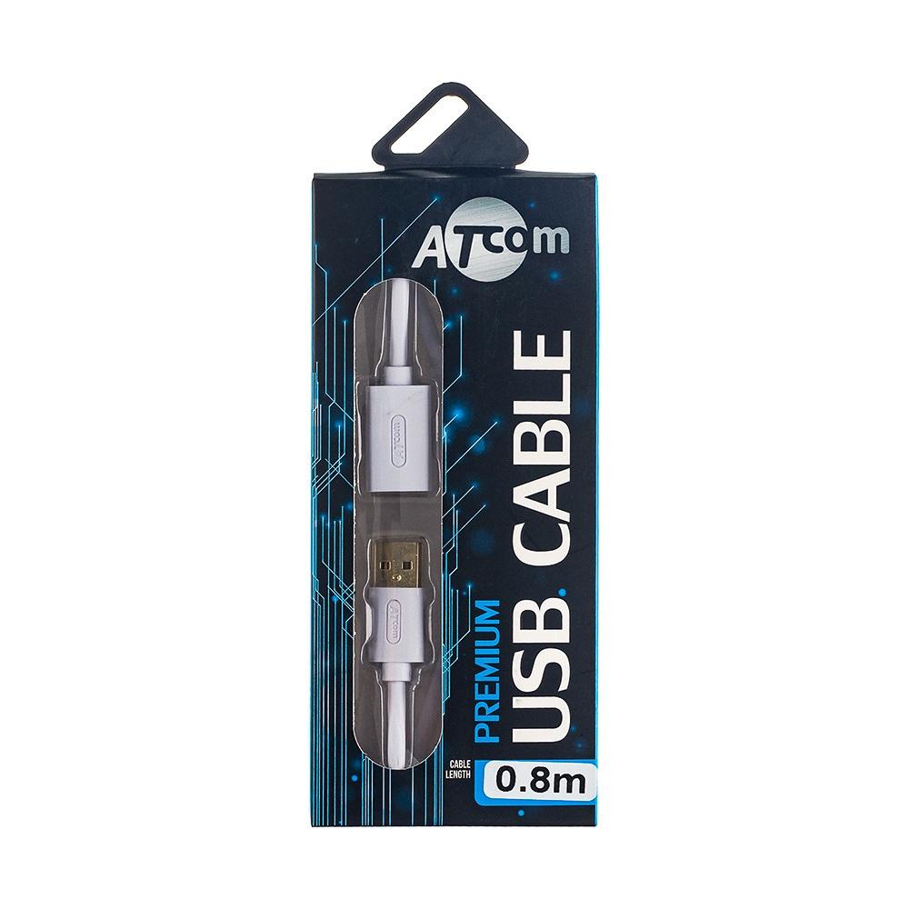 Удлинитель кабеля ATcom Premium USB (Am - Af), блистер, медный, удлинитель удлинитель usb своими руками