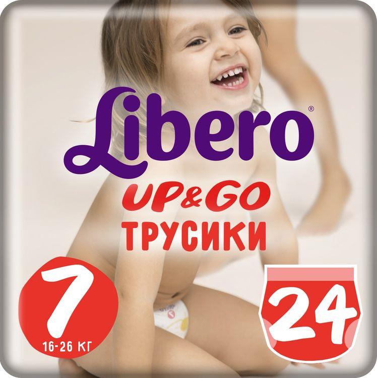 Libero Трусики Up&Go Size 7 (16-26 кг) 24 шт
