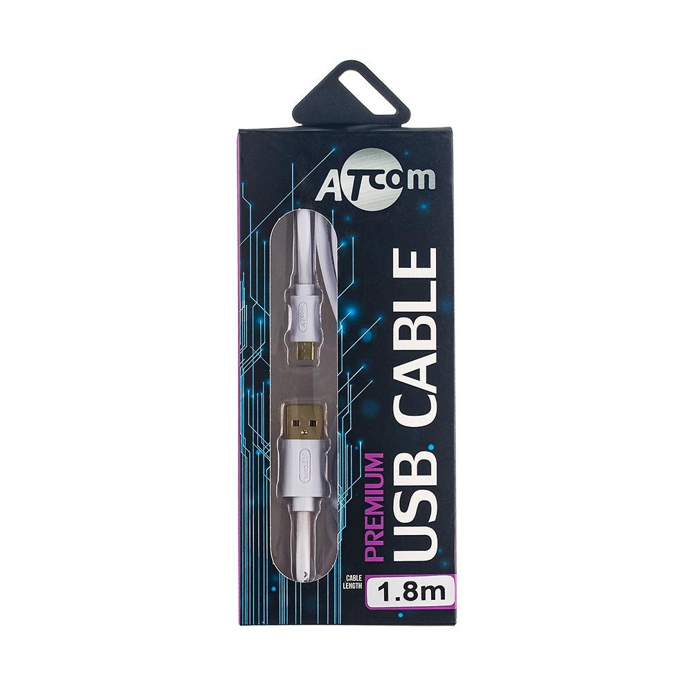 Кабель ATcom Premium USB (Am-microUSB), блистер
