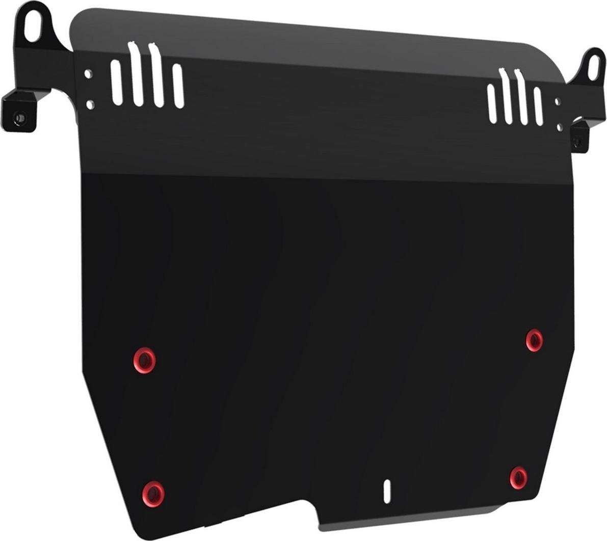 Защита картера и КПП Автоброня для Honda Accord 2008-2012, сталь 2 мм, с крепежом. 111.02101.2 защита картера и кпп автоброня для honda pilot 2012 2016 сталь 2 мм с крепежом 111 02127 1
