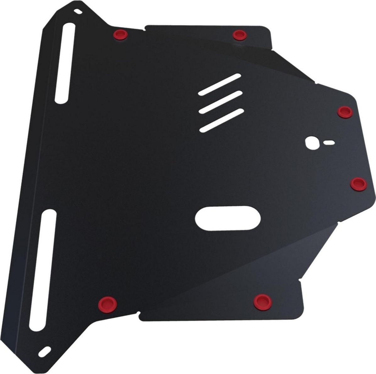 Защита картера и КПП Автоброня для Honda CR-V 2002-2006, сталь 2 мм, с крепежом. 111.02110.1