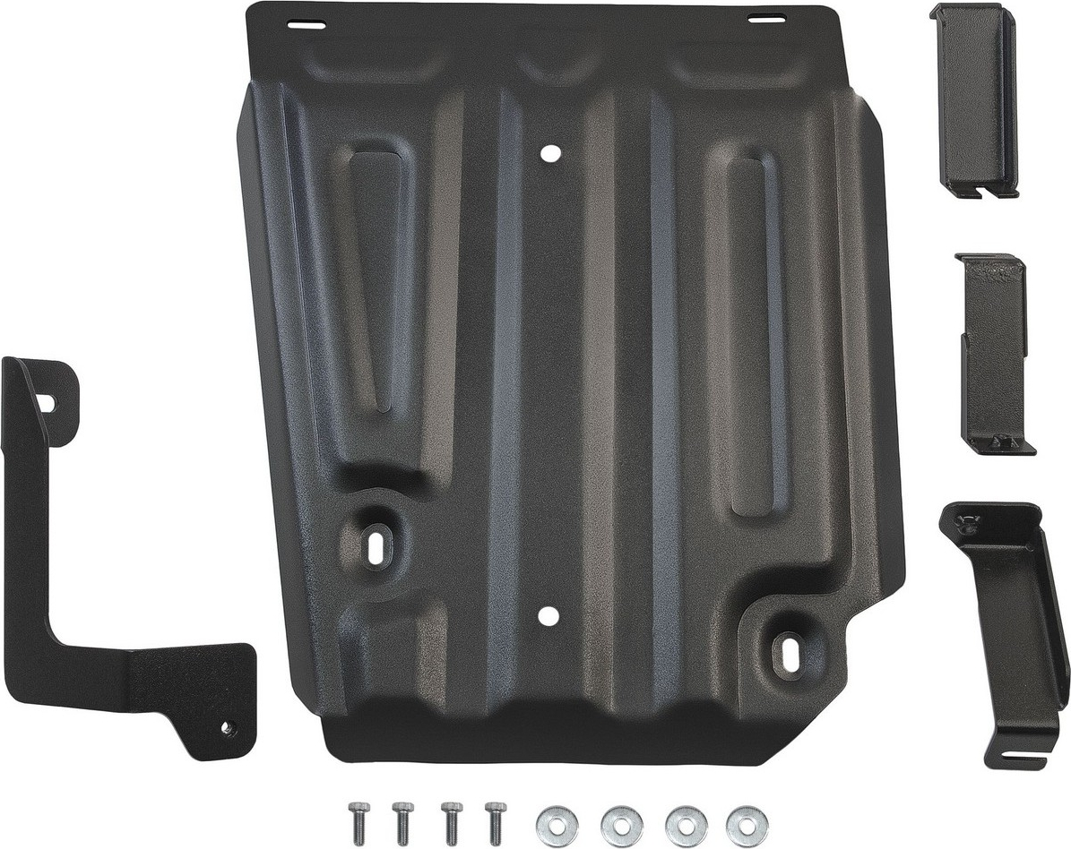 Защита топливного бака Автоброня для Nissan Terrano 4WD 2014-2016 2016-н.в./Renault Duster 4WD 2011-2015 2015-н.в./Renault Kaptur 4WD 2016-н.в., сталь 2 мм, с крепежом. 111.04718.1 защита редуктора rival для nissan terrano 4wd 2014 н в renault duster 4wd 2011 н в kaptur 4wd 2016 н в алюминий 4мм 333 4719 1