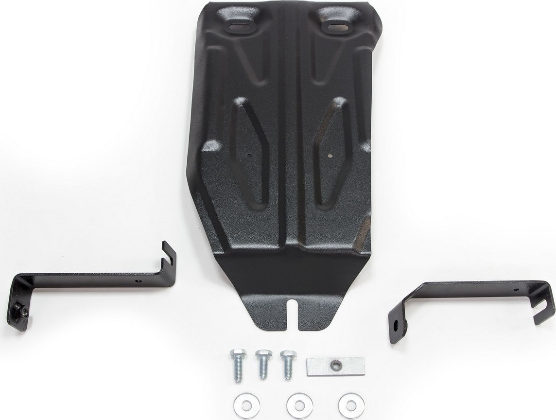 Защита редуктора Автоброня для Nissan Terrano 4WD 2014-2016 2016-н.в./Renault Duster 4WD 2011-2015 2015-н.в./Renault Kaptur 4WD 2016-н.в., сталь 2 мм, с крепежом. 111.04719.1 защита редуктора rival для nissan terrano 4wd 2014 н в renault duster 4wd 2011 н в kaptur 4wd 2016 н в алюминий 4мм 333 4719 1