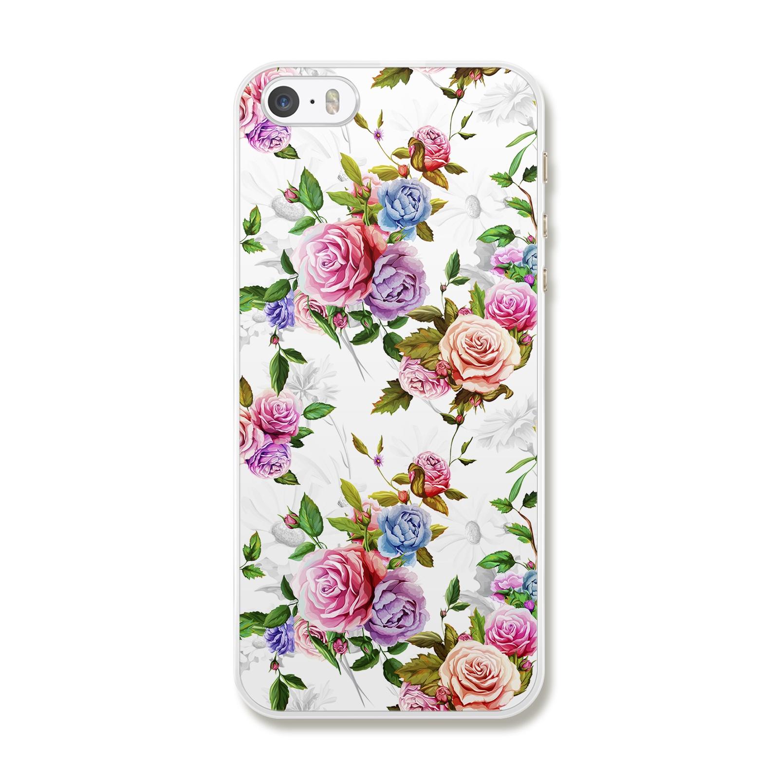 """Чехол для iPhone 5/5S/5SE """"Цветы"""""""