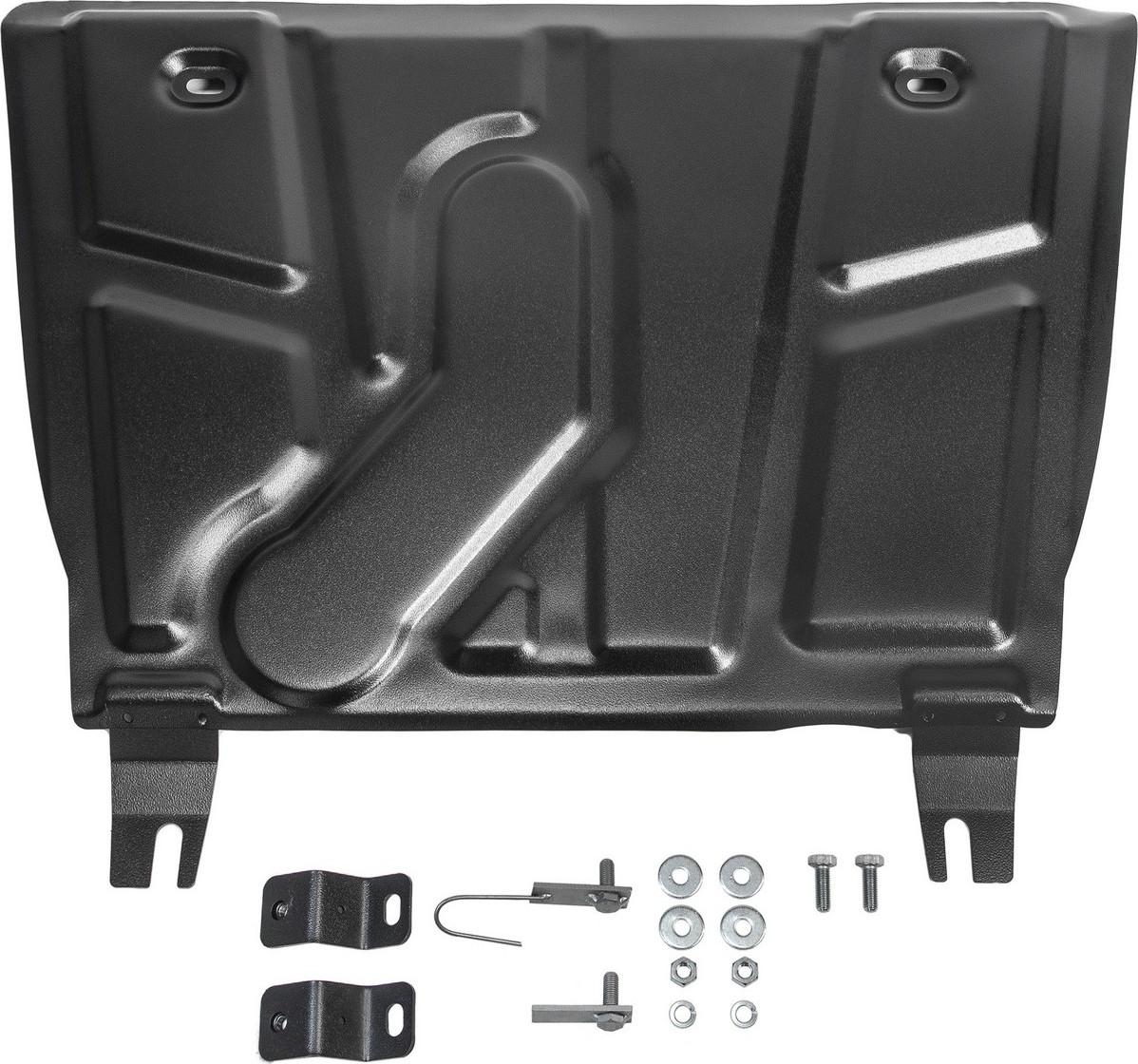 Защита картера и КПП Автоброня для Toyota Rav4 2010-2013/Toyota Rav4 2013-2015/Toyota Rav4 2015-н.в., сталь 2 мм, с крепежом. 111.05709.1 крепеж для защиты редуктора toyota pz4al0892060 для toyota rav4 2013 2015