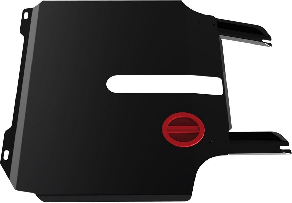Защита картера и КПП Автоброня для Chery Bоnus 2011-2014/Very 2011-2016, сталь 2 мм, с крепежом. 111.00909.1