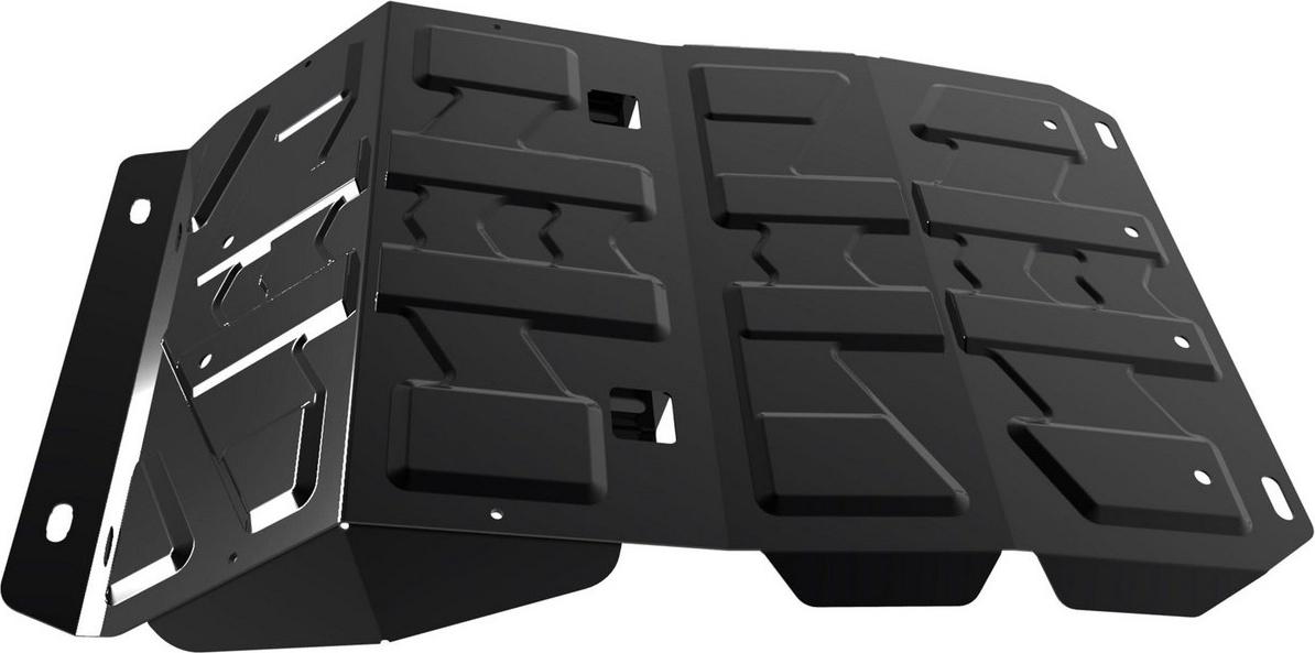 Защита картера Автоброня для Great Wall Hover H5 2011-2015, сталь 2 мм, с крепежом. 111.02001.3 защита картера автоброня для dw hower h3 2017 н в great wall hover h3 2014 2015 сталь 2 мм 111 02022 1