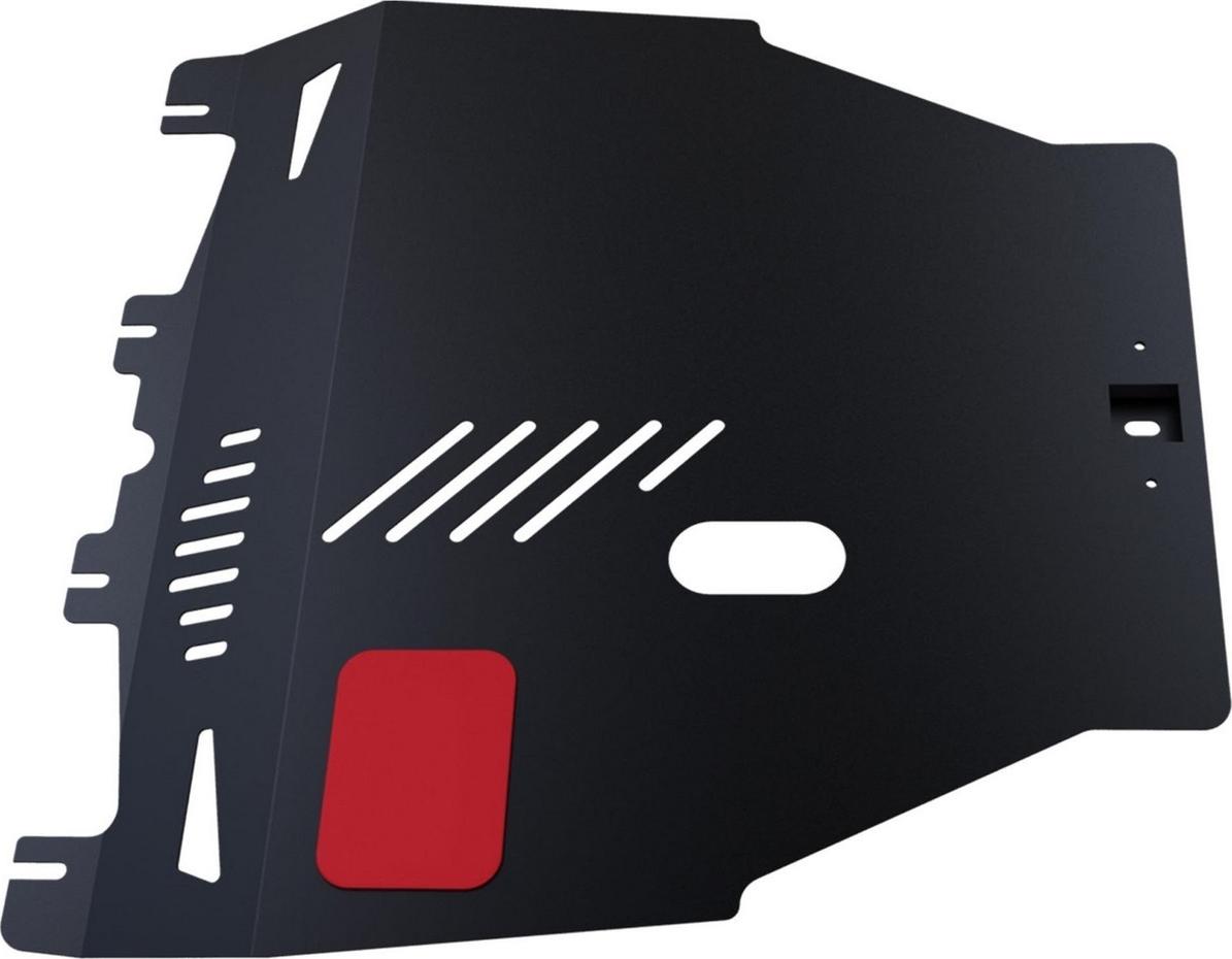 Защита картера и КПП Автоброня для Honda Civic хэтчбек 5-дв. 2006-2012, сталь 2 мм, с крепежом. 111.02103.1 защита картера и кпп автоброня для honda pilot 2012 2016 сталь 2 мм с крепежом 111 02127 1