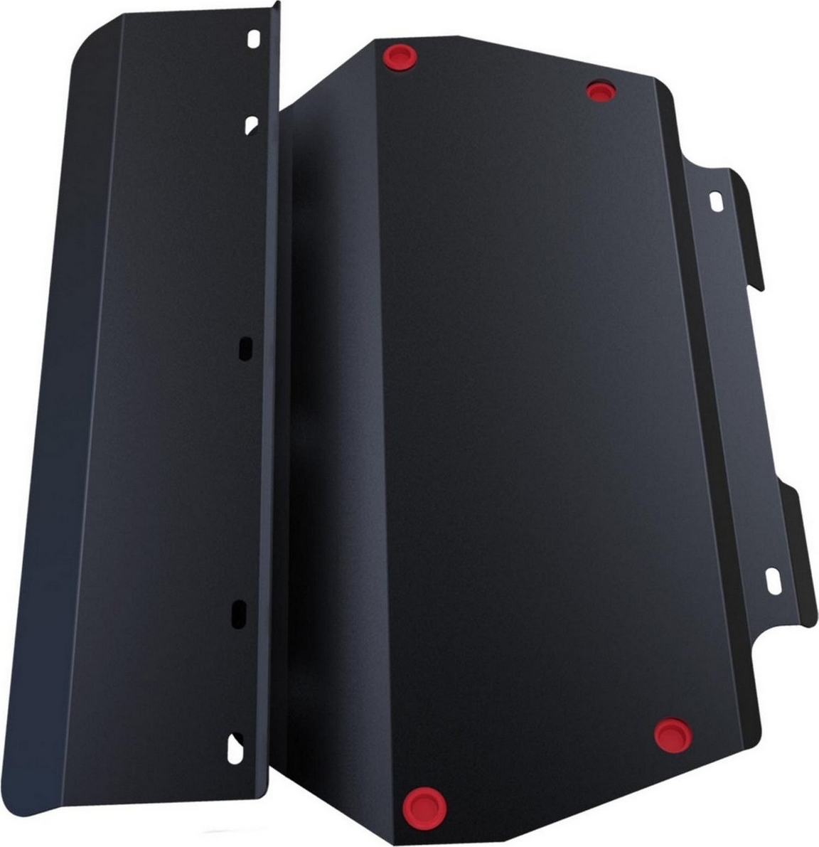 Защита картера и КПП Автоброня для Honda Accord 1999-2002, сталь 2 мм, с крепежом. 111.02119.1111.02119.1Защита картера и КПП Автоброня для Honda Accord (V - все) 1999-2002, сталь 2 мм, с крепежом, 111.02119.1 Стальные защиты Автоброня надежно защищают ваш автомобиль от повреждений при наезде на бордюры, выступающие канализационные люки, кромки поврежденного асфальта или при ремонте дорог, не говоря уже о загородных дорогах. - Имеют оптимальное соотношение цена-качество. - Спроектированы с учетом особенностей автомобиля, что делает установку удобной. - Защита устанавливается в штатные места кузова автомобиля. - Является надежной защитой для важных элементов на протяжении долгих лет. - Глубокий штамп дополнительно усиливает конструкцию защиты. - Подштамповка в местах крепления защищает крепеж от срезания. - Технологические отверстия там, где они необходимы для смены масла и слива воды, оборудованные заглушками, закрепленными на защите.