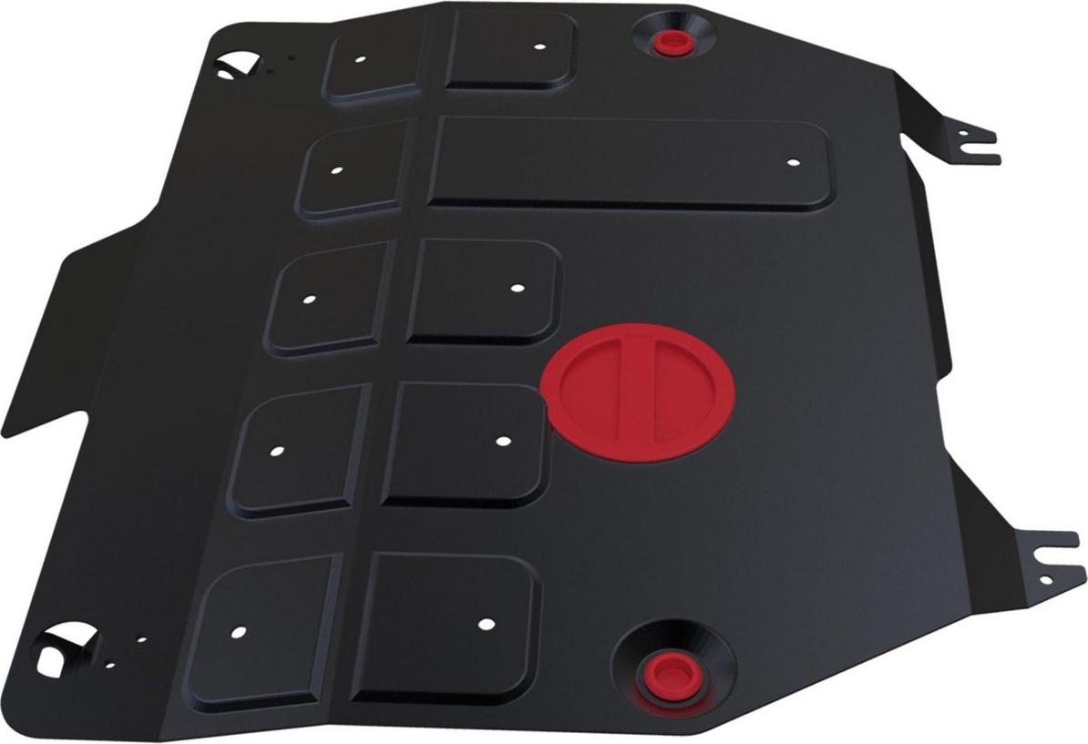 Защита картера и КПП Автоброня для Honda CR-V 2012-2015, сталь 2 мм, с крепежом. 111.02130.1 защита картера и кпп автоброня для honda pilot 2012 2016 сталь 2 мм с крепежом 111 02127 1