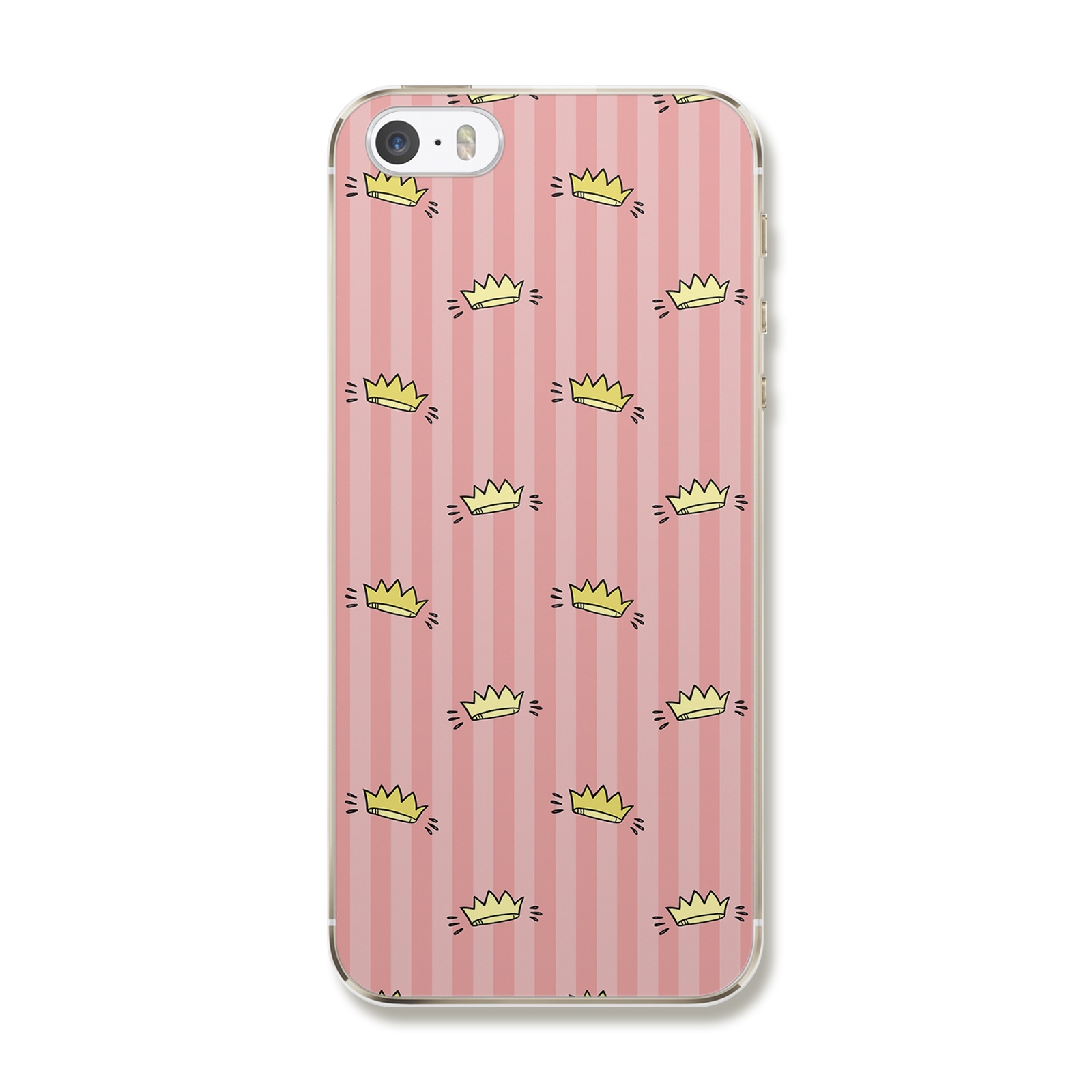 "Чехол для iPhone 5/5S/5SE ""Принцесска"""
