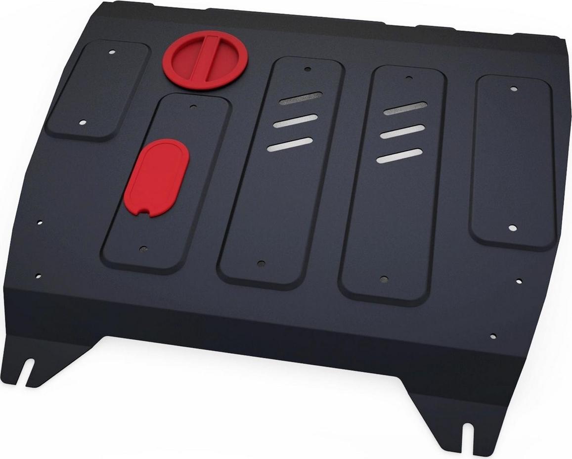 цена на Защита картера и КПП Автоброня для Nissan Sentra АКПП 2014-2017/Tiida АКПП 2015-2016, сталь 2 мм, с крепежом. 111.04151.1