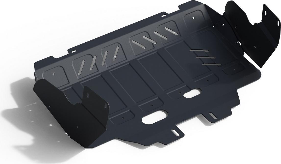 Защита картера Автоброня (увеличенная) для Subaru Forester 2013-2016 2016-2018, сталь 2 мм, с крепежом. 111.05423.1 защита картера для subaru forester 2