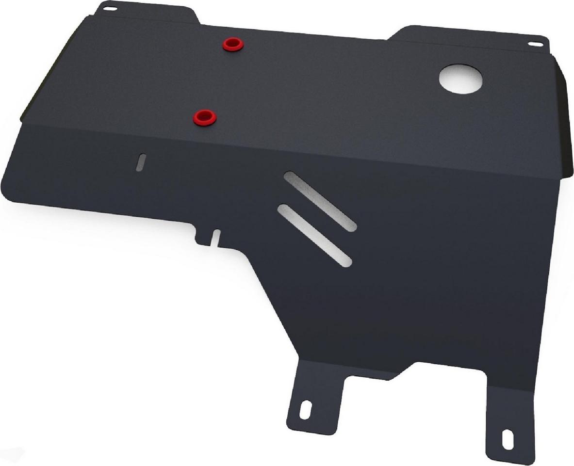 Защита картера и КПП Автоброня для Haima 3 2010-2012, сталь 2 мм, с крепежом. 111.07001.1