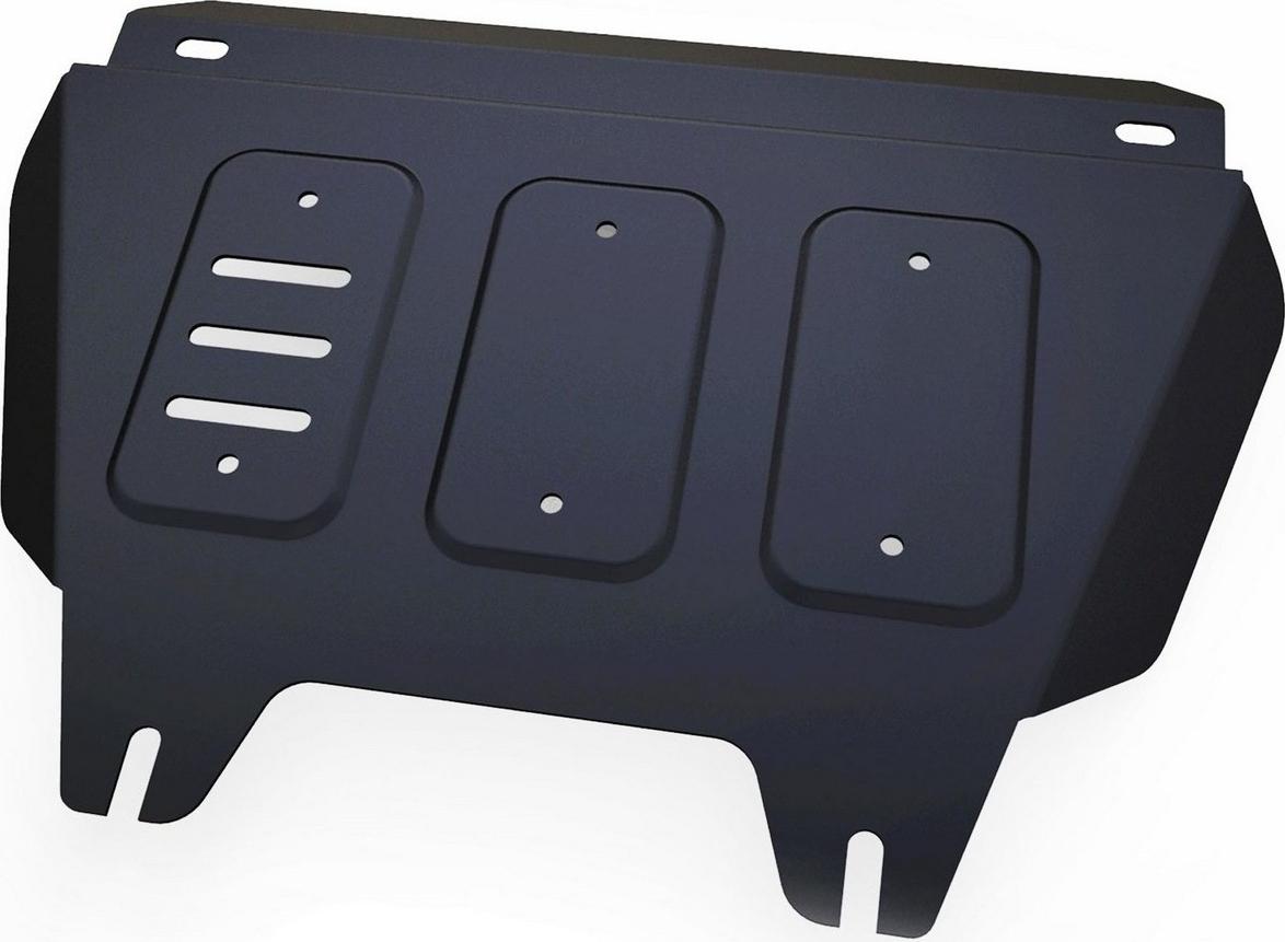 Защита РК Автоброня для Isuzu D-Max 2012-н.в., сталь 2 мм, с крепежом. 111.09104.1