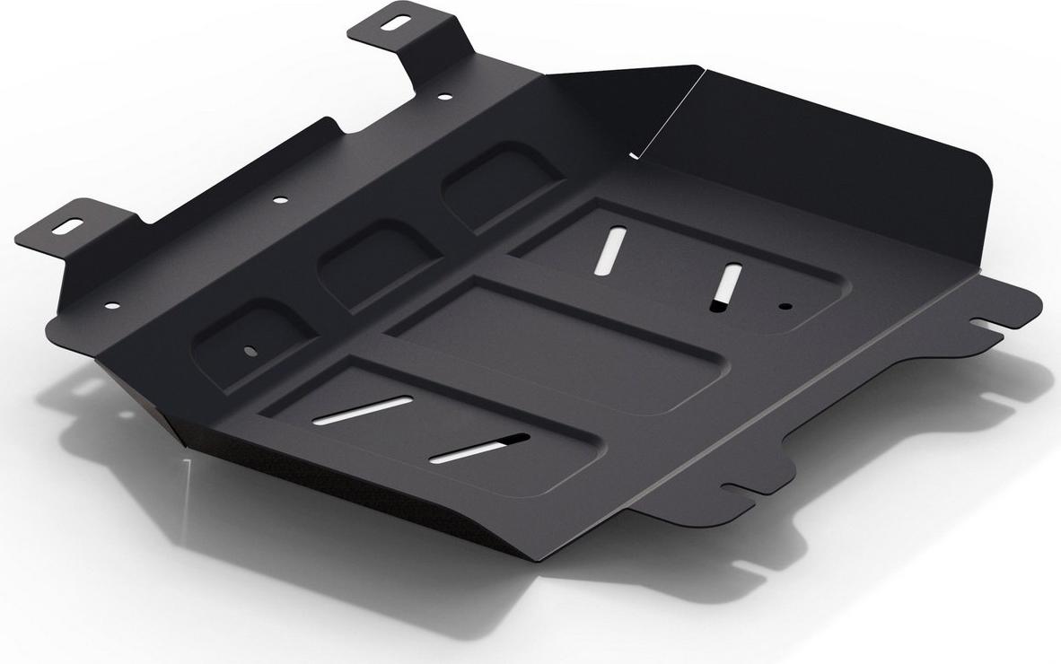 Защита картера Автоброня для Haval H9 2015-н.в., сталь 2 мм, с крепежом. 111.09408.1