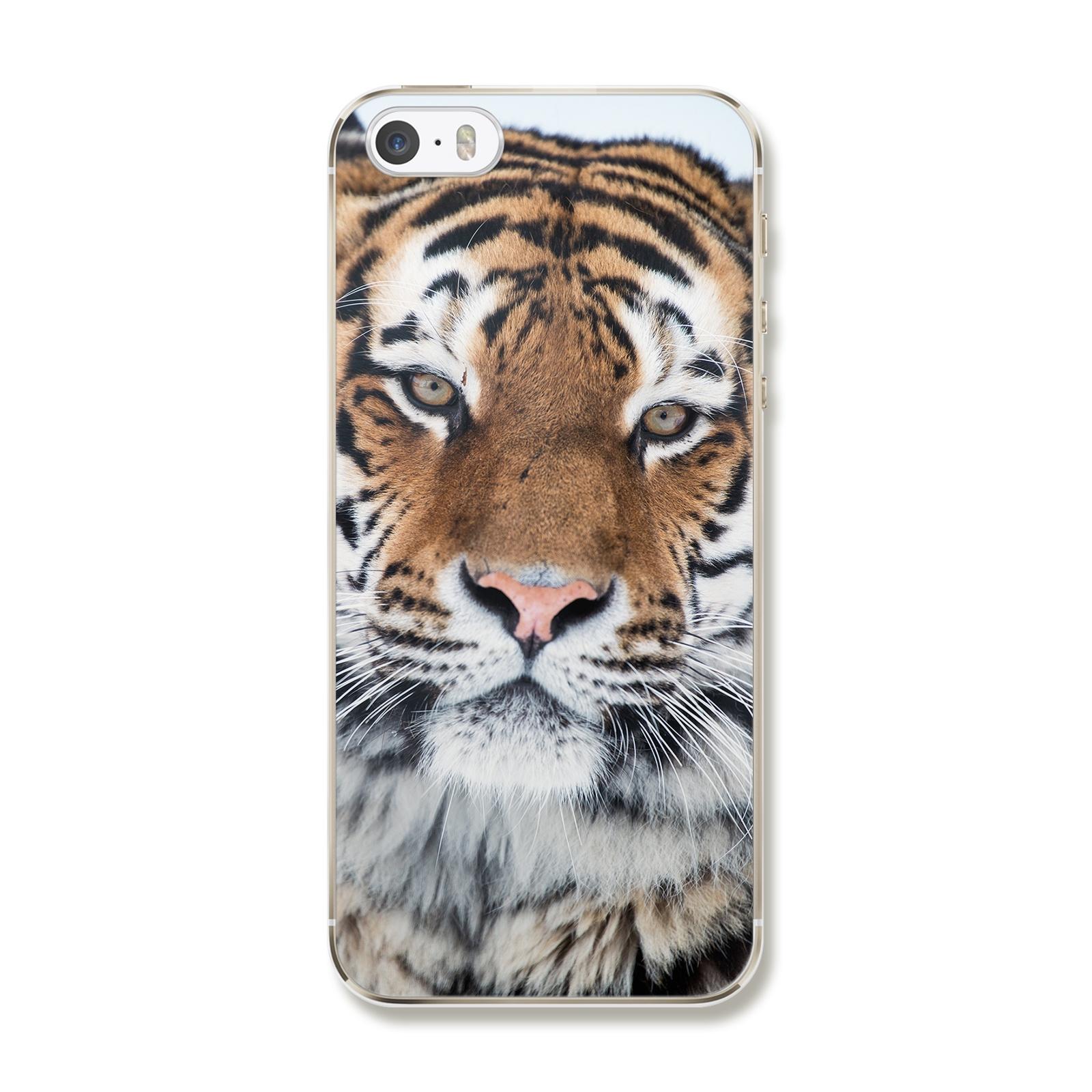 "Чехол для iPhone 5/5S/5SE ""Тигр"""
