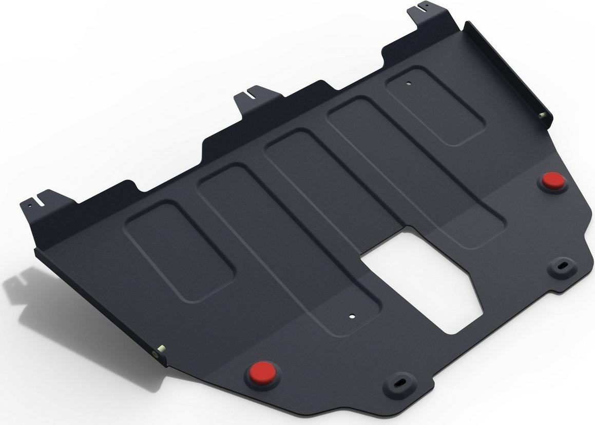 Защита картера и КПП Автоброня для Jeep Renegade 4WD 2015-н.в., сталь 2 мм, с крепежом. 111.02736.1 защита картера и кпп автоброня для jeep renegade 4wd 2015 н в сталь 2 мм 111 02736 1