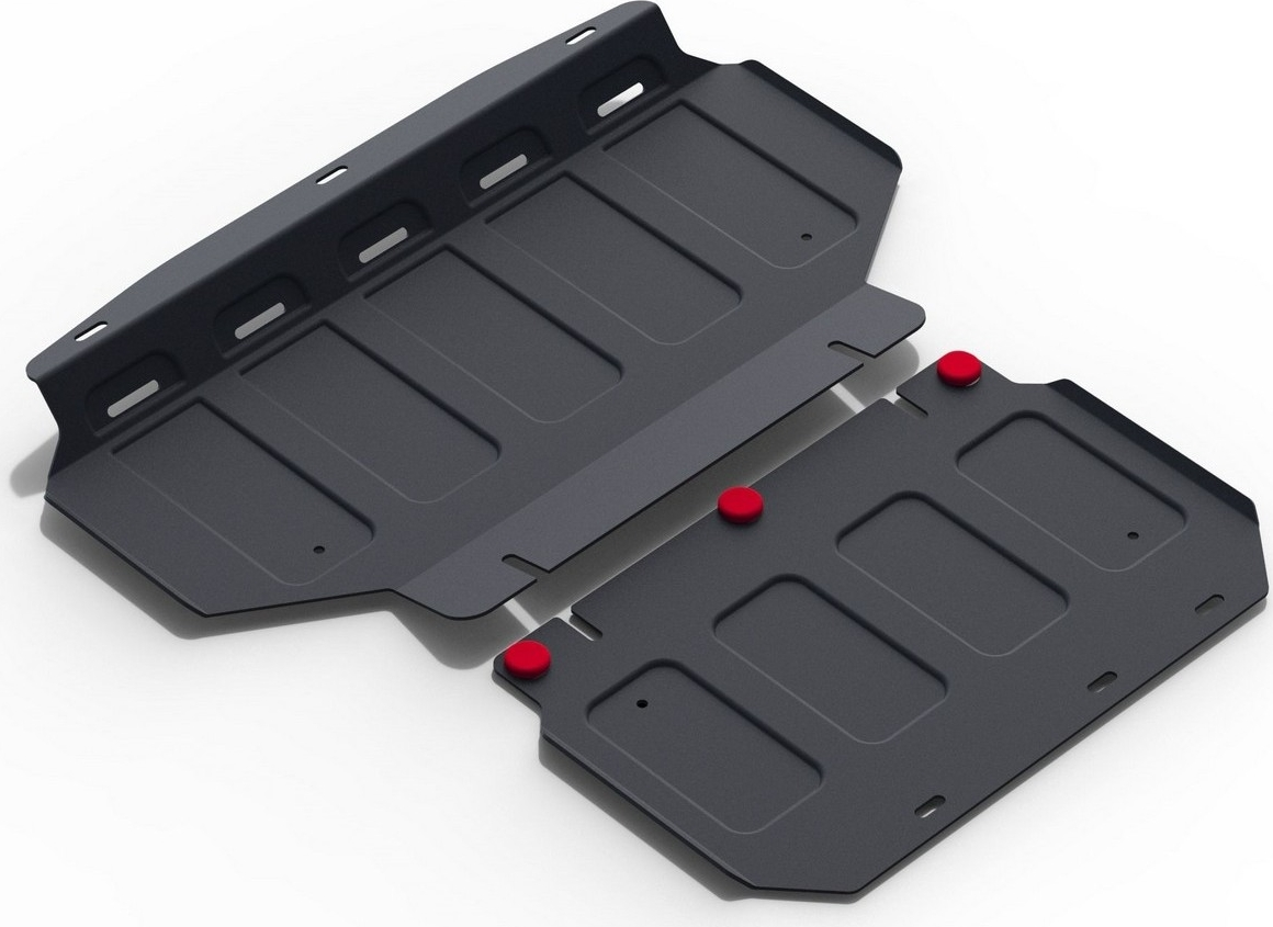 цена на Защита картера Автоброня для Kia Mohave 2009-2017, сталь 2 мм, с крепежом. 111.02839.1