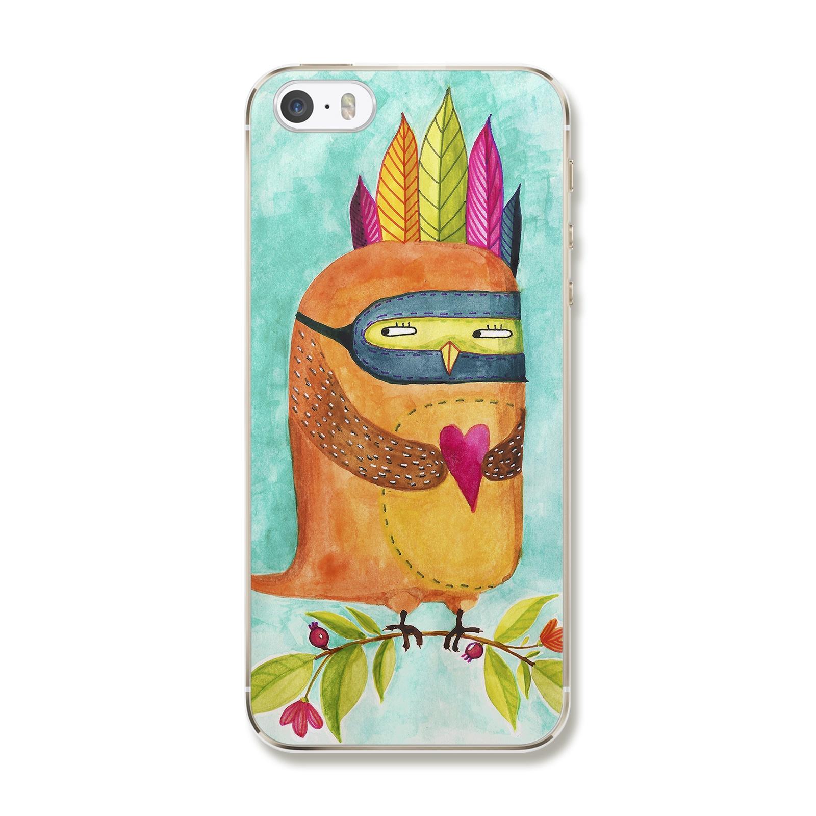 """Чехол для iPhone 5/5S/SE """"Сова"""""""
