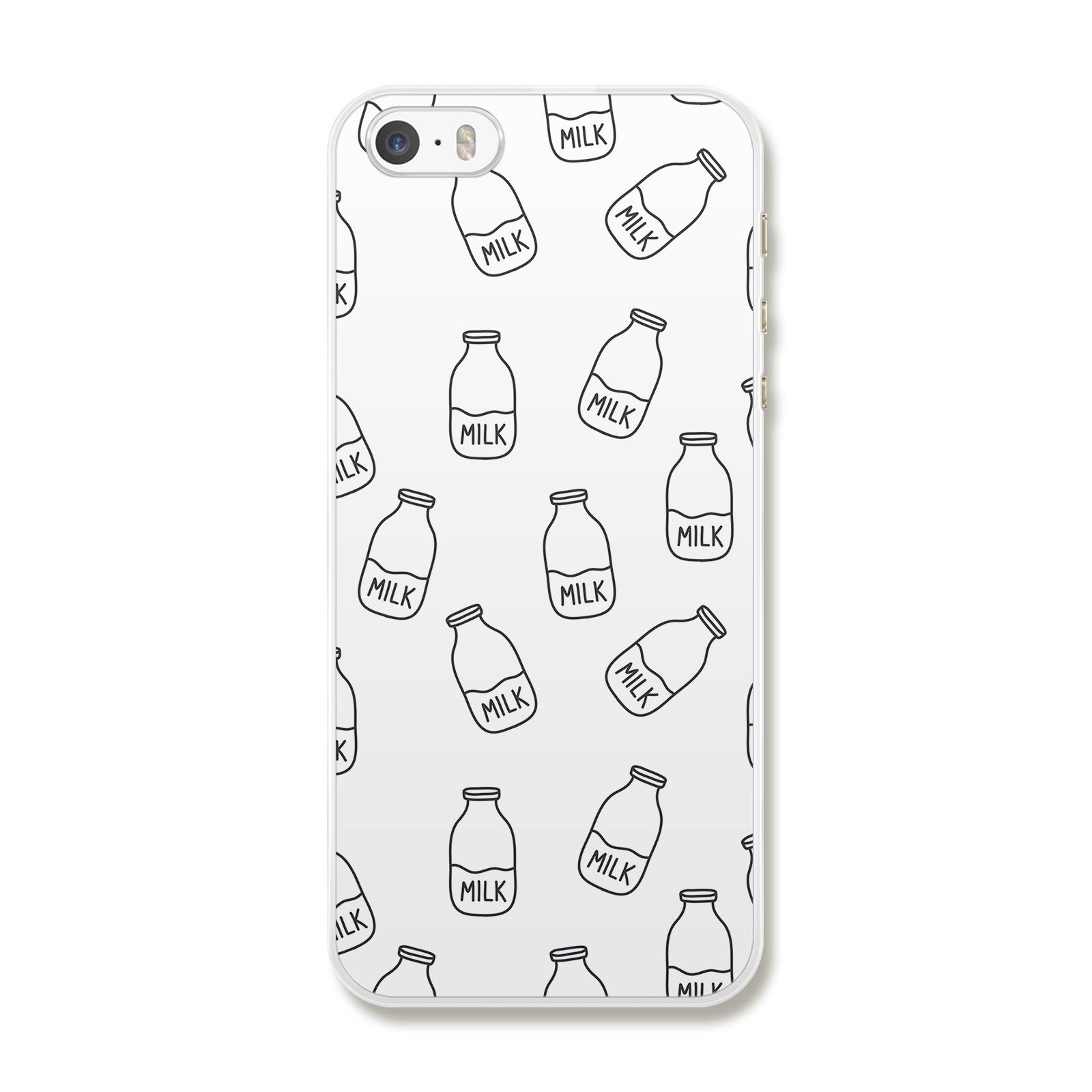 "Чехол для iPhone 5/5S/SE ""Milk"""