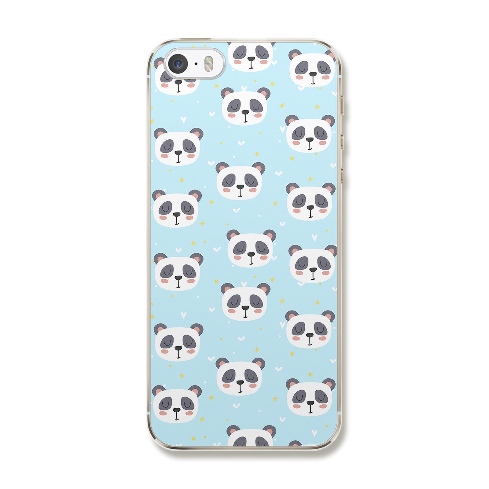 """Чехол для iPhone 5/5S/SE """"Любовь панды"""""""