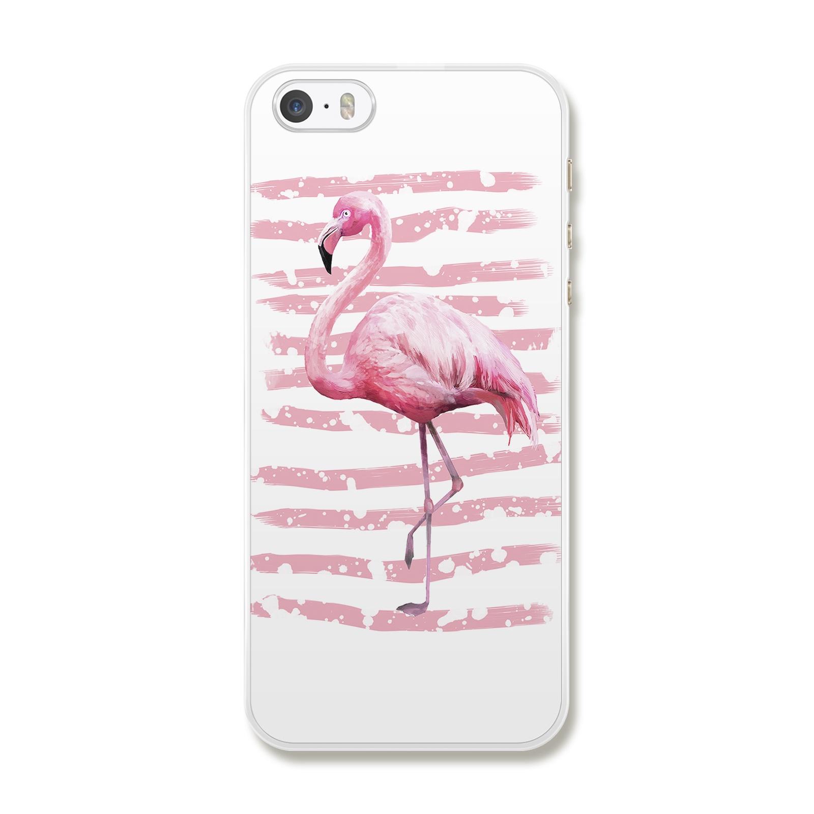 """Чехол для iPhone 5/5S/SE """"Фламинго"""""""