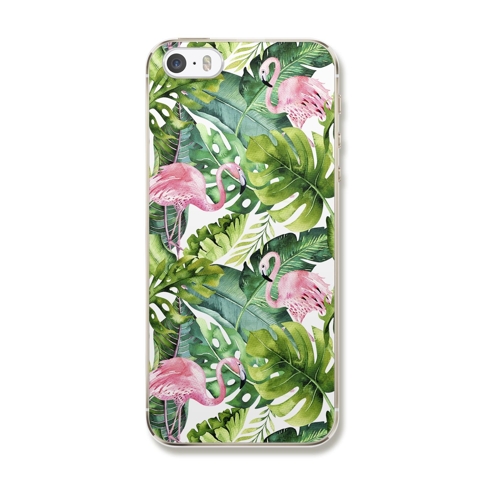 """Чехол для iPhone 5/5S/SE """"Флористика"""""""