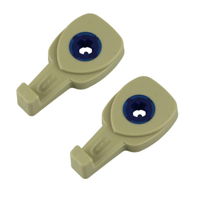 Автомобильный держатель Простые Предметы для пакетов в авто Модель 2 (2 шт.) до 8 кг, бежевый автомобильный держатель простые предметы магнитный