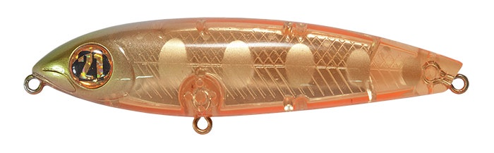 Воблер Pontoon21 Волкер PONTOON 21, LocoPerro100DW, 100мм, 23.5 гр., поверхностный, №853, разноцветный